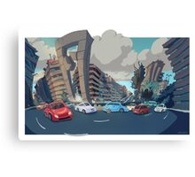Plaza America Canvas Print