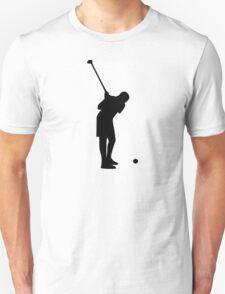 Golf player Unisex T-Shirt