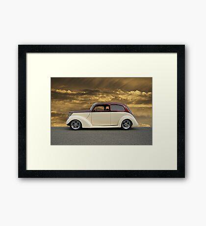 1937 Ford Sedan 'Profile of Perfection' Framed Print