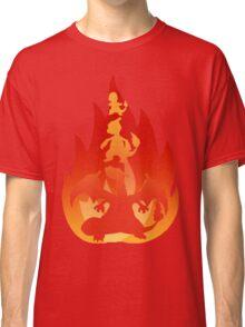 Charmander-meleon-izard Classic T-Shirt