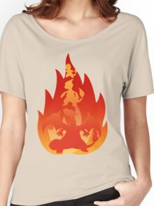 Charmander-meleon-izard Women's Relaxed Fit T-Shirt