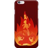 Charmander-meleon-izard iPhone Case/Skin