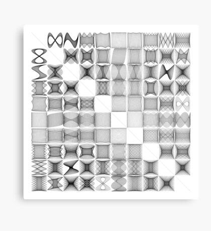 Lissajous XXVIII Metal Print