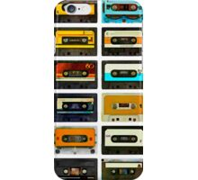 1980's Cassette Tapes Montage iPhone Case/Skin