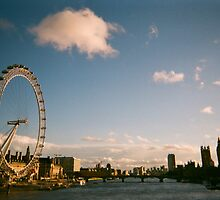 The London Eye In Summer by Jessica Reilly