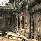 Ta Prohm, Door by Nicolas Noyes