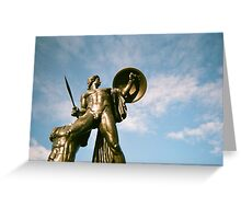 Achilles Bathed In Sun Greeting Card