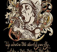 Mad Hatter Carnivale Style Ver 2. - Gold Version by Sally McLean