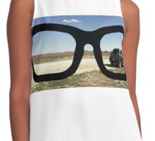 Buddy Holly Glasses With Jeep Cherokee Contrast Tank