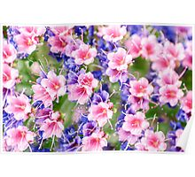 Fairytale Flowers Poster
