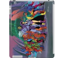 Evil Warriors Filmation Style iPad Case/Skin