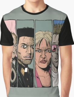 Preacher :Arseface, Jesse, Tulip and Cassidy Graphic T-Shirt