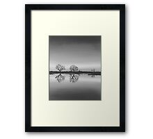 By the River Thames Framed Print