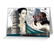 Dreaming about Pisa Greeting Card