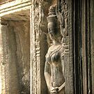 Ta Prohm, Detail #1 by Nicolas Noyes