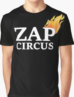 ZAP CIRCUS with Flame Graphic T-Shirt