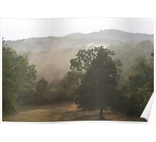 Steamy Afternoon in the Ozarks Poster