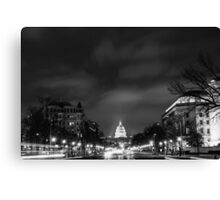 Washington Streets Canvas Print