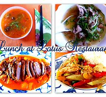Lunch at LOTUS by ©The Creative  Minds