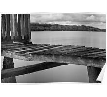 Maroochy River Boat House Poster