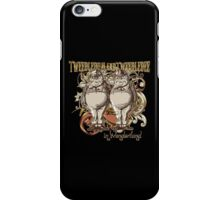 Tweedledum & Tweedledee Carnivale Style - Gold Version iPhone Case/Skin