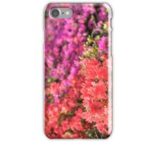 Rhododendron flowers in bloom iPhone Case/Skin