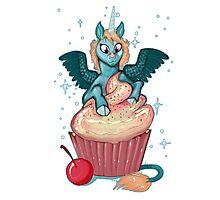Cupcake Unicorn Photographic Print