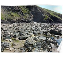 Rocks and Rock Pools Poster