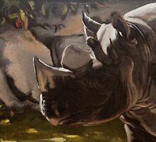 Black Rhino by JamesMurch