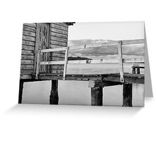 Maroochy River Boat House Greeting Card