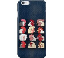 Rooster Face iPhone Case/Skin