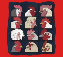 Rooster Face Kids Clothes