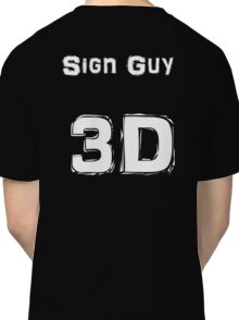Sign Guy Jersey Classic T-Shirt