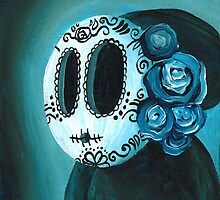 Day of the Dead Shyguy by Katie Clark