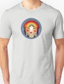 Rainbow Girl Unisex T-Shirt