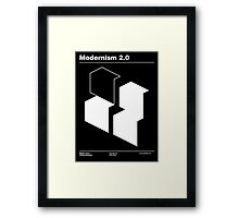 Modernism 2.0 Framed Print