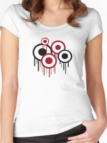 Melting Targets Women's Fitted Scoop T-Shirt