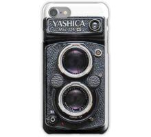 Vintage YashicaMat Camera iPhone Case/Skin