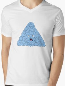 bubble pyramid Mens V-Neck T-Shirt