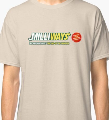 Milliways - Restaurant at the End of the Universe Classic T-Shirt