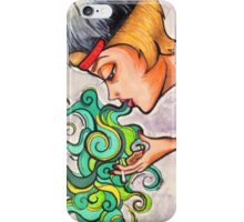 Exhale iPhone Case/Skin