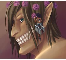 Attack on Titan: Flower Crown for the Titan Photographic Print
