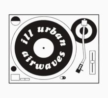 Ill Urban Airwaves Tee by MajorBrain