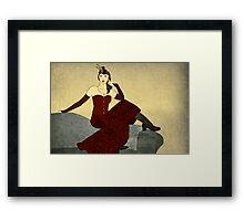 Steampunk Chic Framed Print