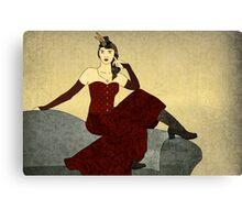 Steampunk Chic Canvas Print