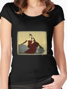 Steampunk Chic Women's Fitted Scoop T-Shirt