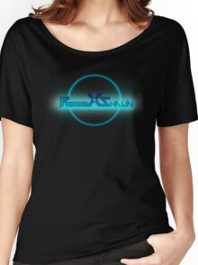 PressXtoShaun Splash Screen Shirt Women's Relaxed Fit T-Shirt