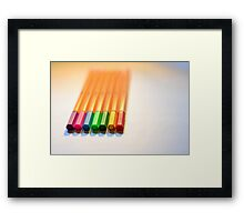 Revision is boring Framed Print