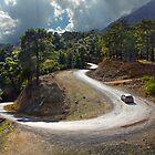 Curvy Mountain Roads by Baki Karacay