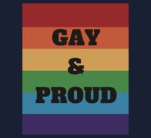 Gay & Proud One Piece - Short Sleeve